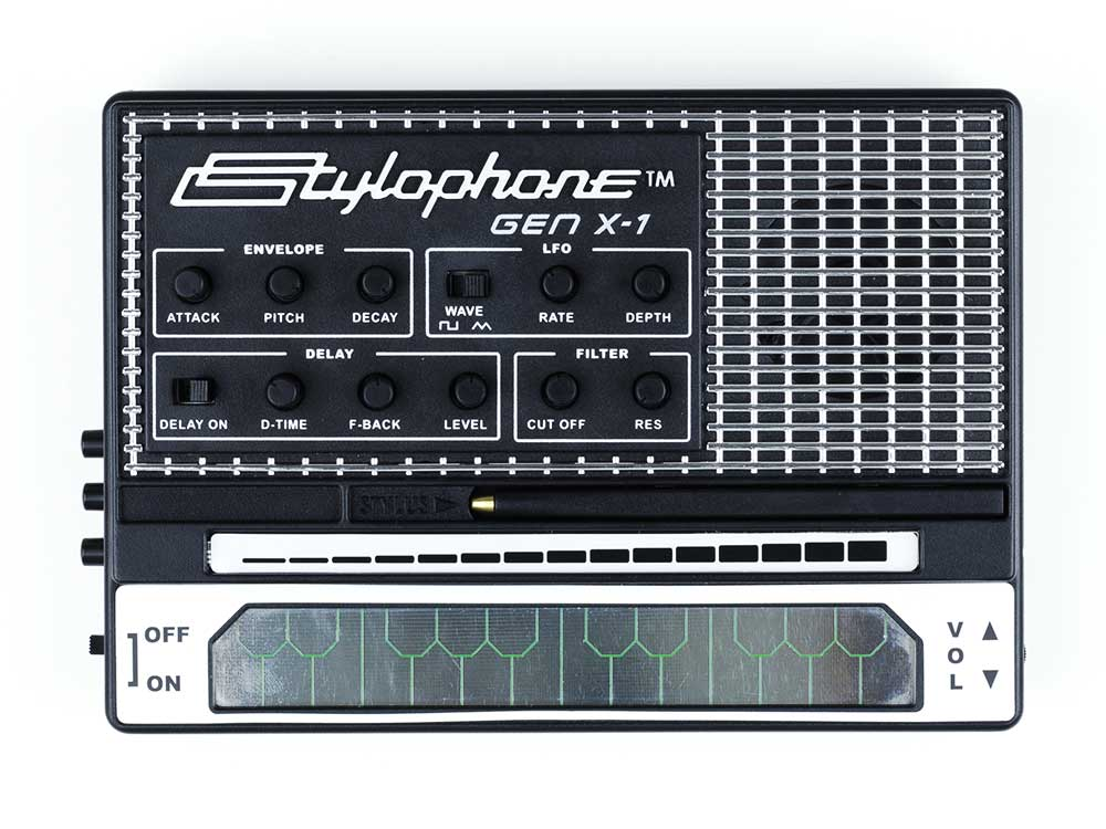 The Stylophone GEN X-1 is the latest portable analogue synthesizer by Dubreq.