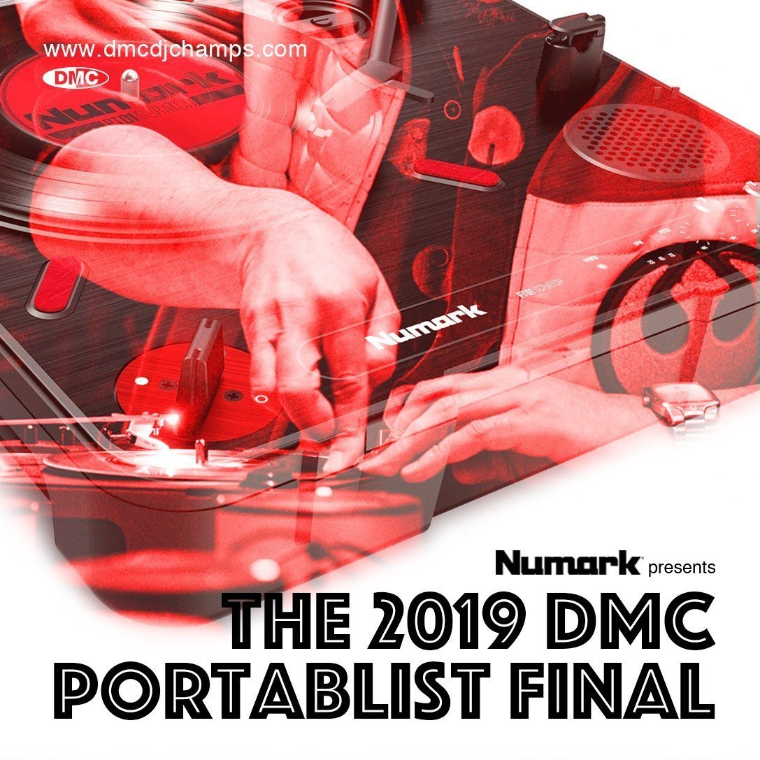 dmc-numark-portablist-battle-2019 - london - uk