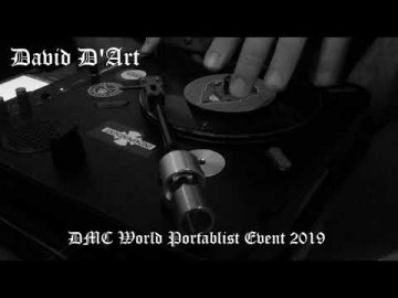 David D'Art - DMC World - Portablism Event 2019 ENTRY
